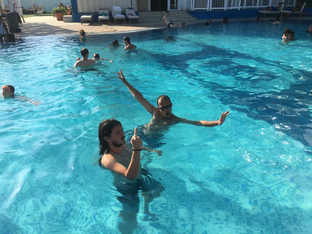 Bañeres y yo en La Habana Libre