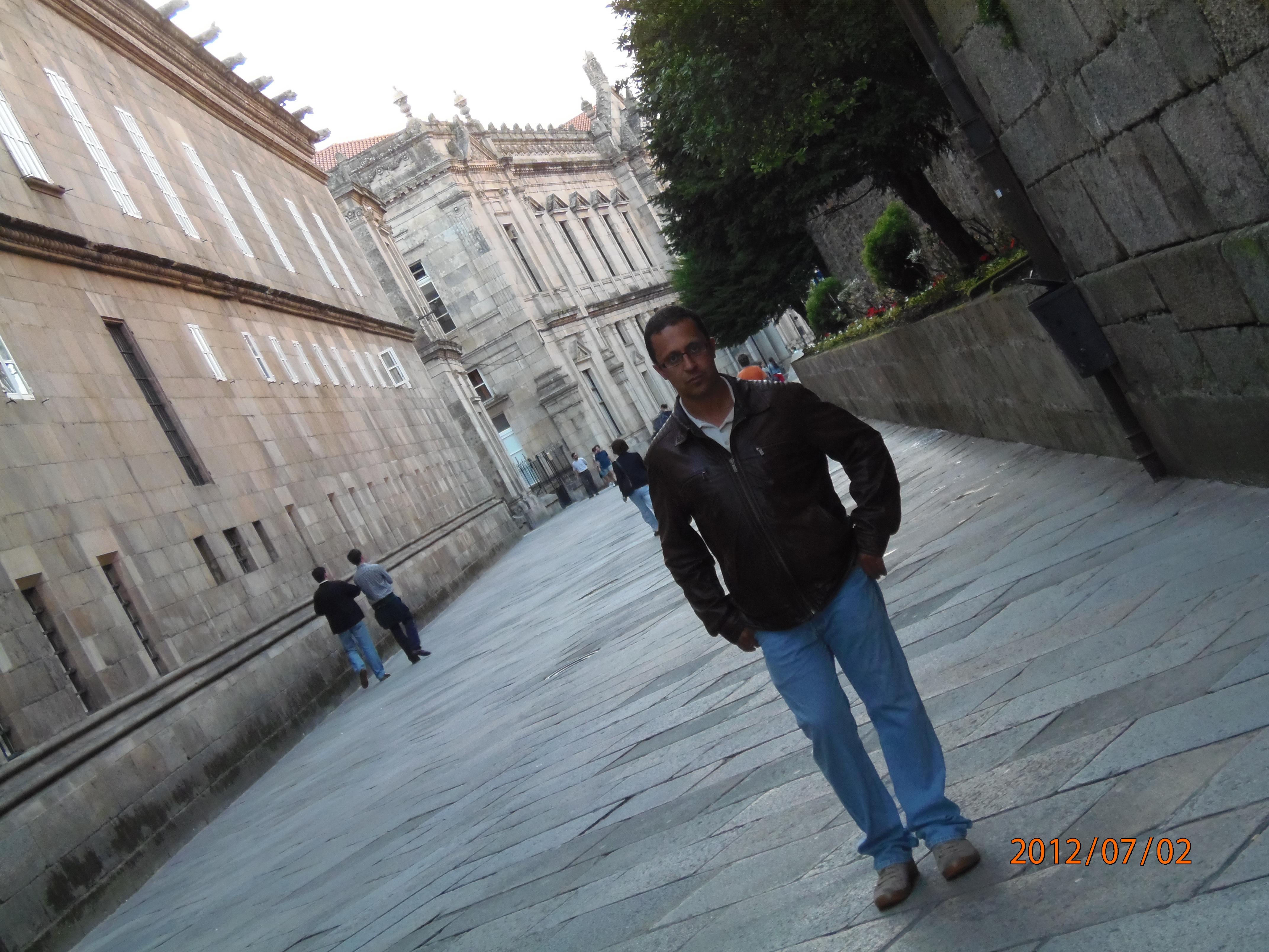 Paseando por Santiago