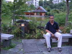 En un jardin de Tokio