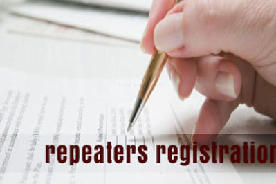 Repeat Registration