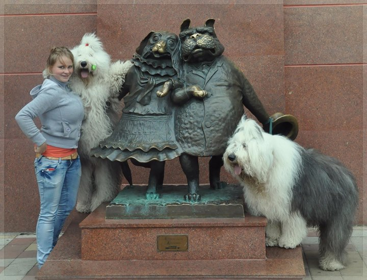 "Facebook - in Krasnodar with Princess and Zidan and the monument ""Walking the Do"