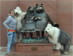 """Facebook - in Krasnodar with Princess and Zidan and the monument """"Walking the Do"""