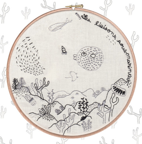 Broderie sous-marine