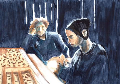 """La leçon de piano"" Jane Campion"