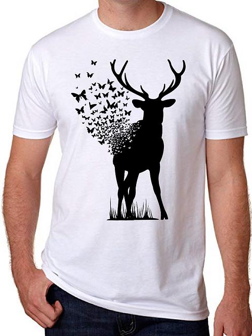Polera Deer Butterfly