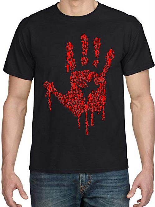 Polera Hand of Zombie