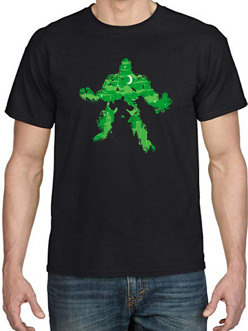 Polera Monster Green