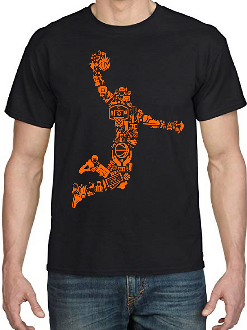 Polera Basketball Player