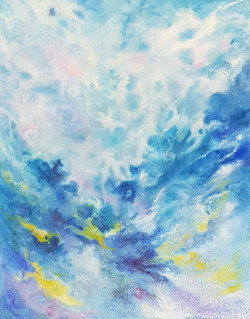 """Swimming in the Clouds"" by Elizabeth James Taylor"