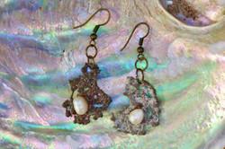 Earrings (shell)