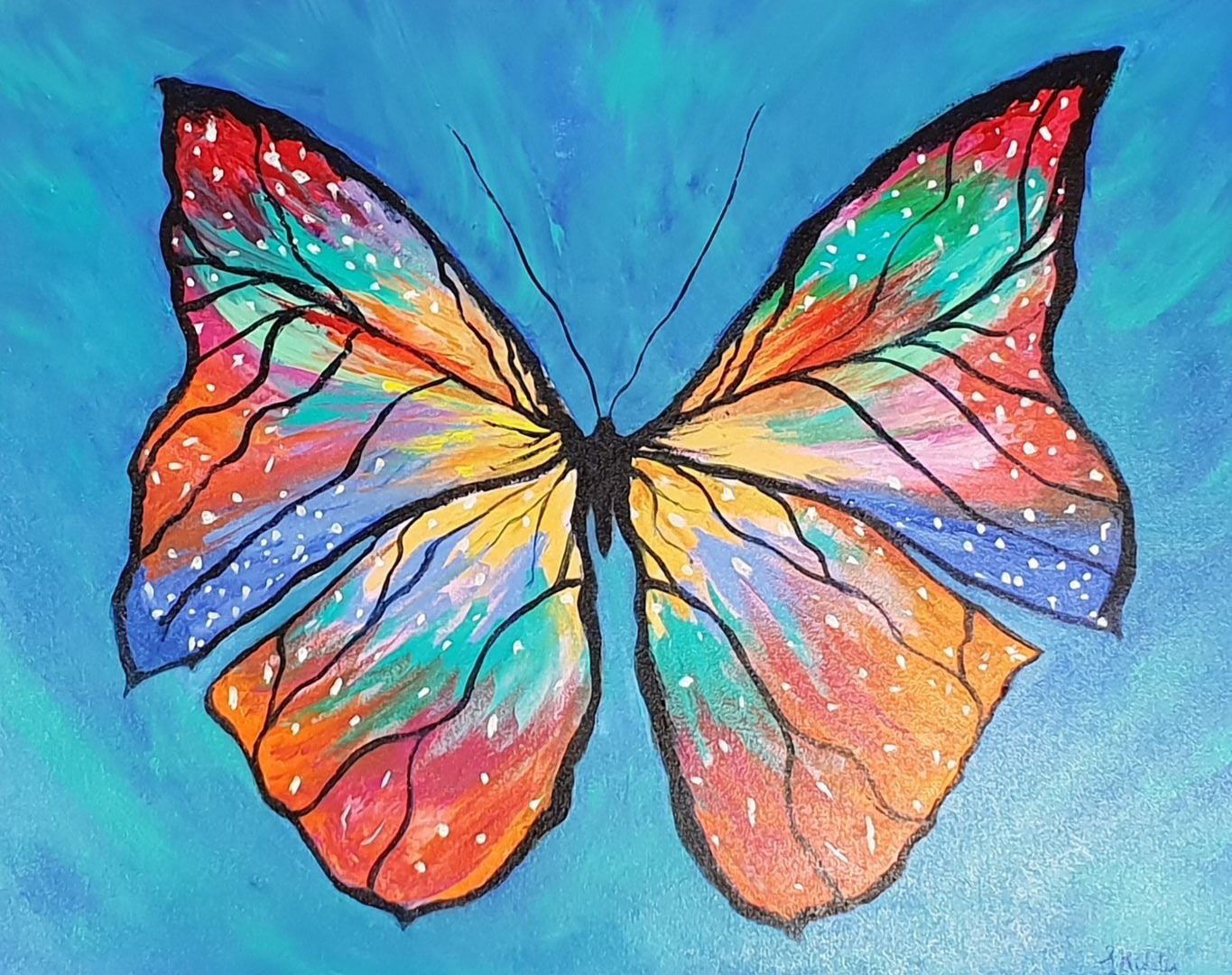 """Free as a Butterfly"" by Lindy Midalia"