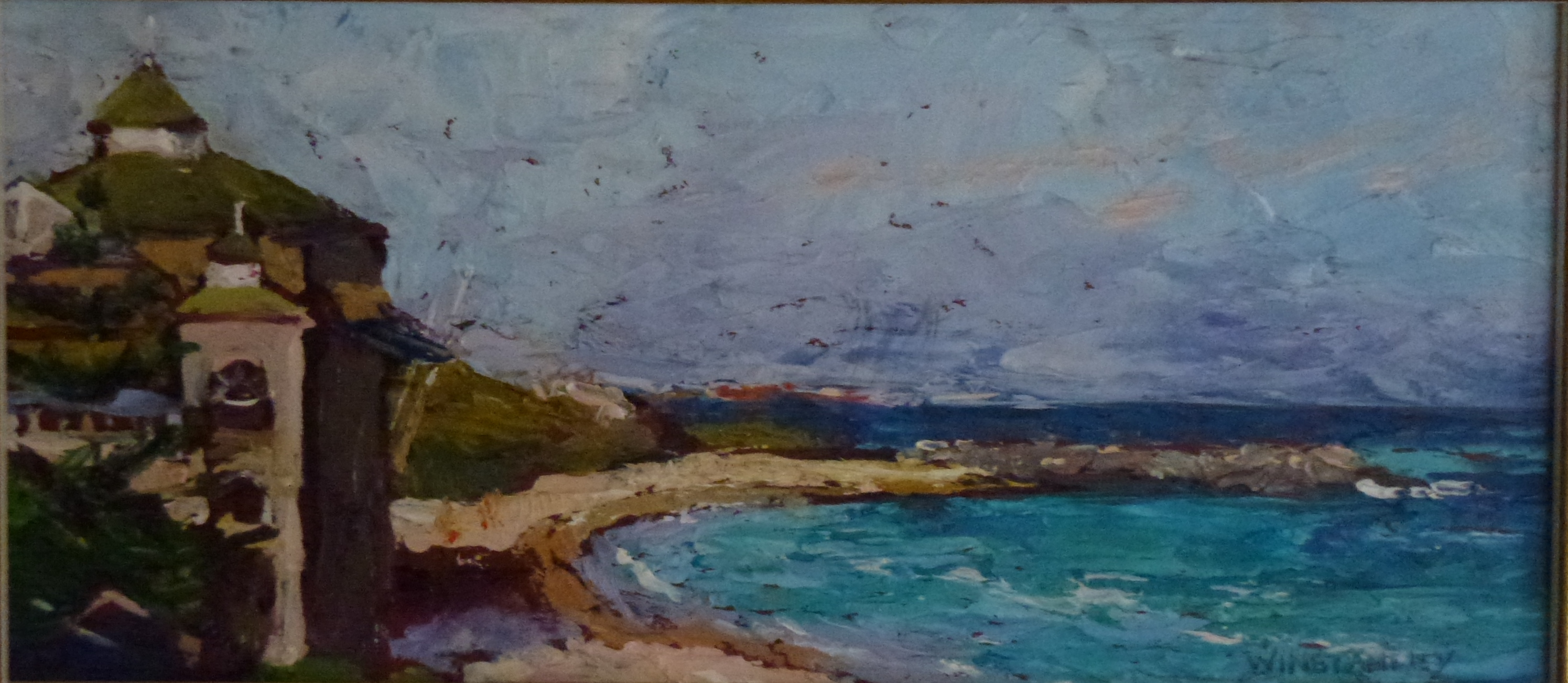 At Cottesloe. Oil. 420x270. $480.jpg
