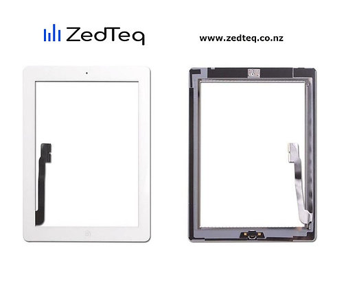 iPad 3 touch display/screen & home button flex
