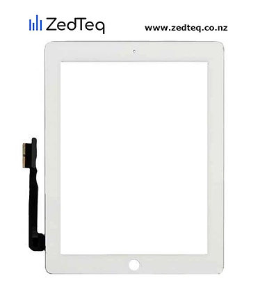 iPad 4 touch display touch screen & home button flex