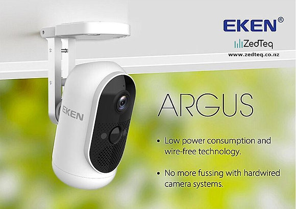 EKEN Argus WiFi 1080p CCTV Camera Wireless
