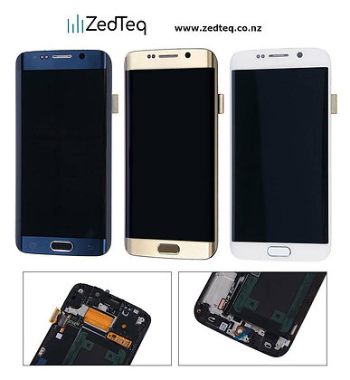 Samsung Galaxy S6 Edge Display LCD assembly with frame