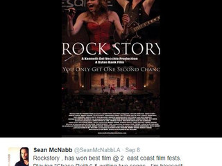 """Rock Story"" wins awards at Filmfest"