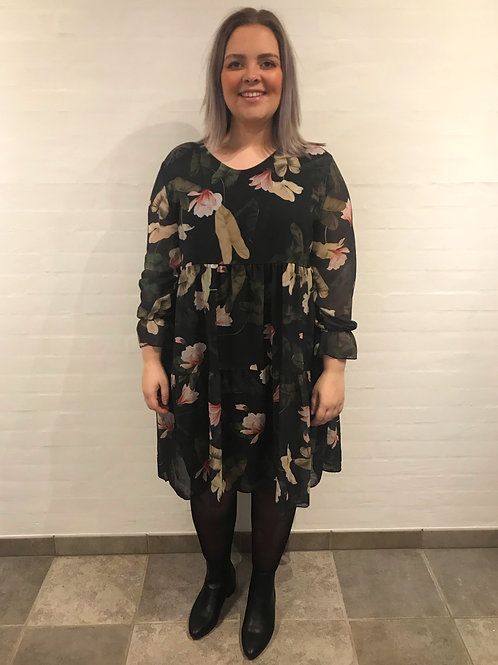 Emily - Kjole med blomsterprint