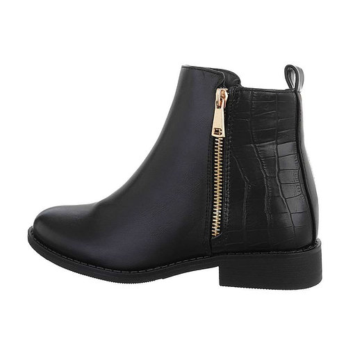 Chelsea boots i skindlook