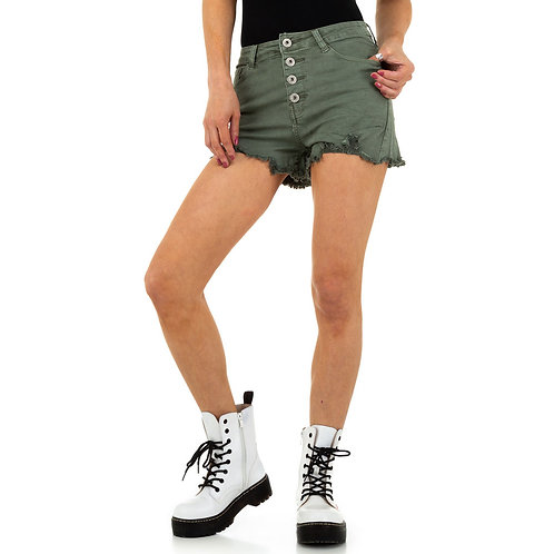 Daysie - Denim shorts med frynser