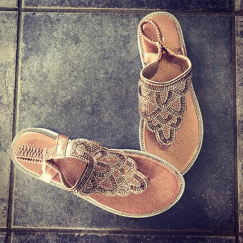 Annabelle - Sandaler med sten