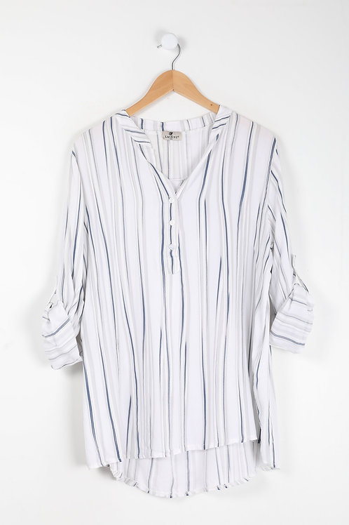 Pil - Stribet bluse