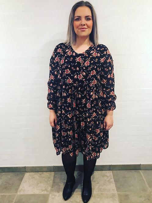 Emmy - Kjole med blomsterprint