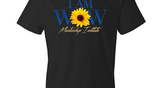 Black IAM WOW T-Shirt