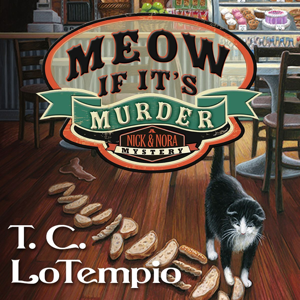 Cover of the audio book, Meow If It's Murder by T C LoTempio
