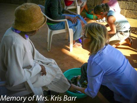 In Memory of Mrs. Kris Barr