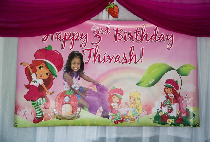Thivash's 3rd Birthday
