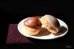 Choux de Chocolate y Vainilla