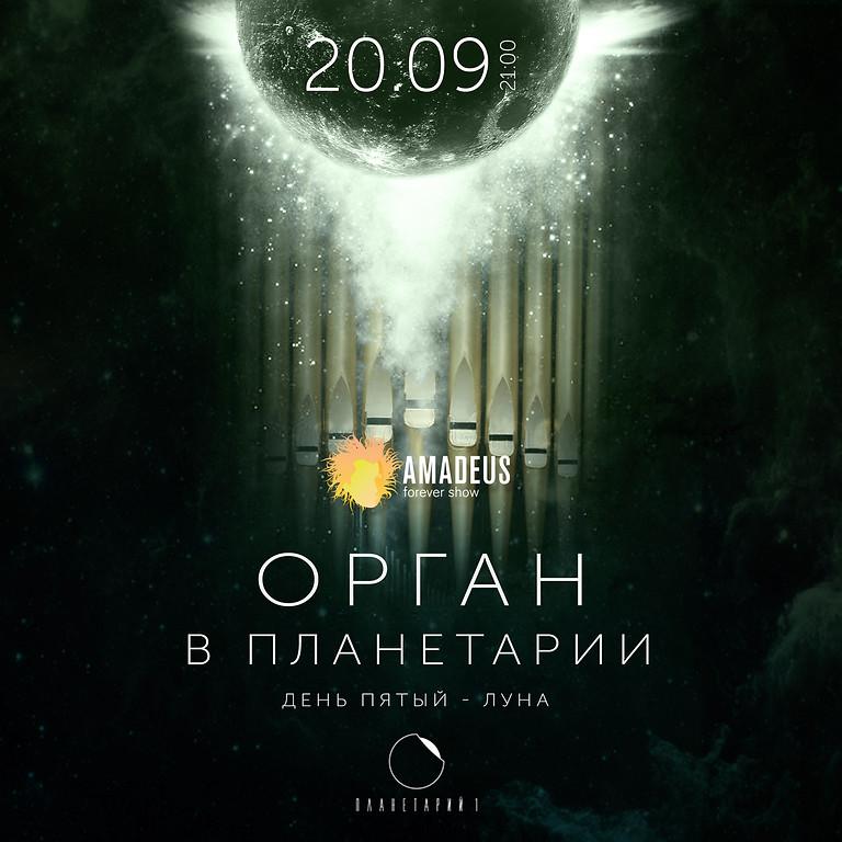 ОРГАН В ПЛАНЕТАРИИ 1. ДЕНЬ ПЯТЫЙ. ЛУНА