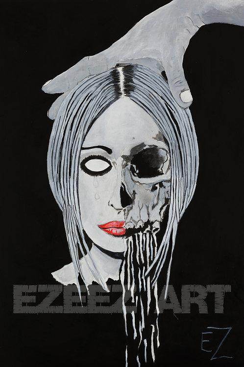 Female Skull-Print