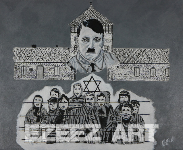 Auschwitz Art-Tribute to the Children of