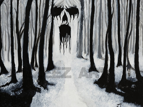 Haunted Forrest-Print