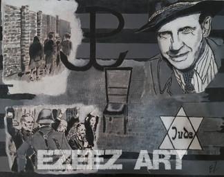 Auschwitz Art-Jewish Ghetto Tribute_Oska