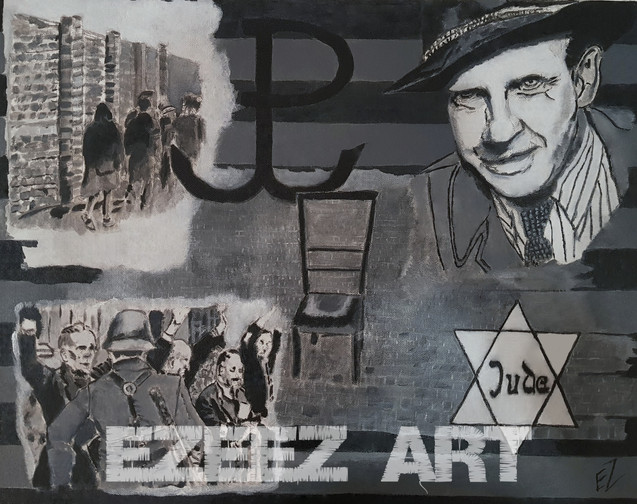 Auschwitz Art-Jewish Ghetto Tribute_Oska