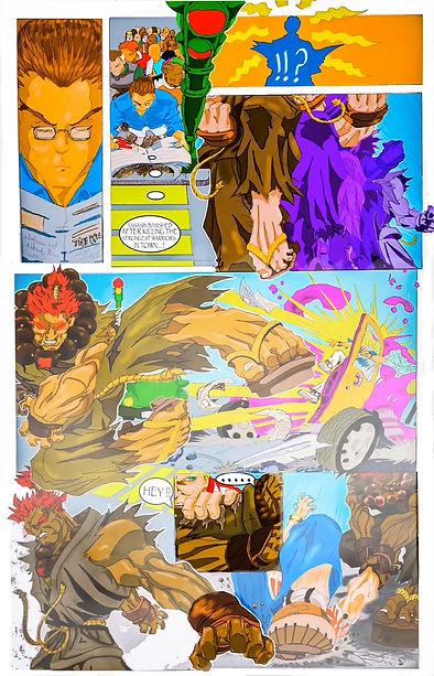 Story board/motion comic