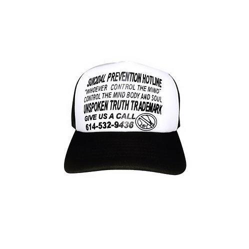 """""""Prevent Suicide"""" Trucker Hat"""