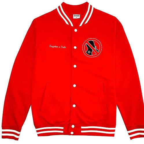 "Classic Varsity Fleece ""Red"""