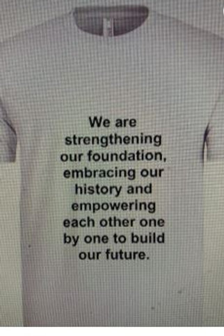 We Are Strengthening Our Foundation T-Shirt