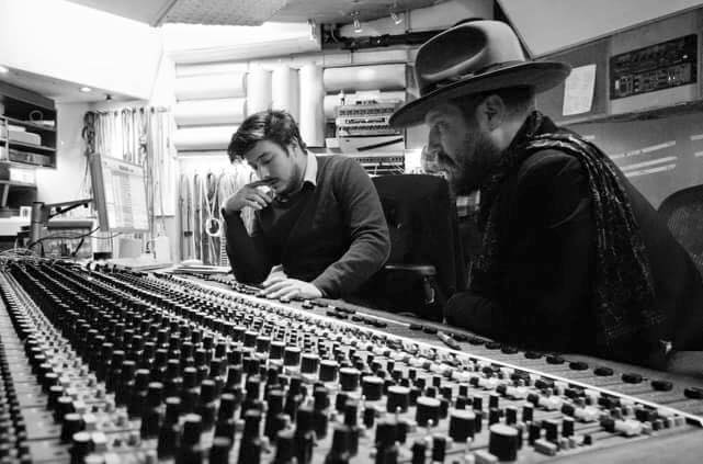 Marcus Mumford and Christian Letts
