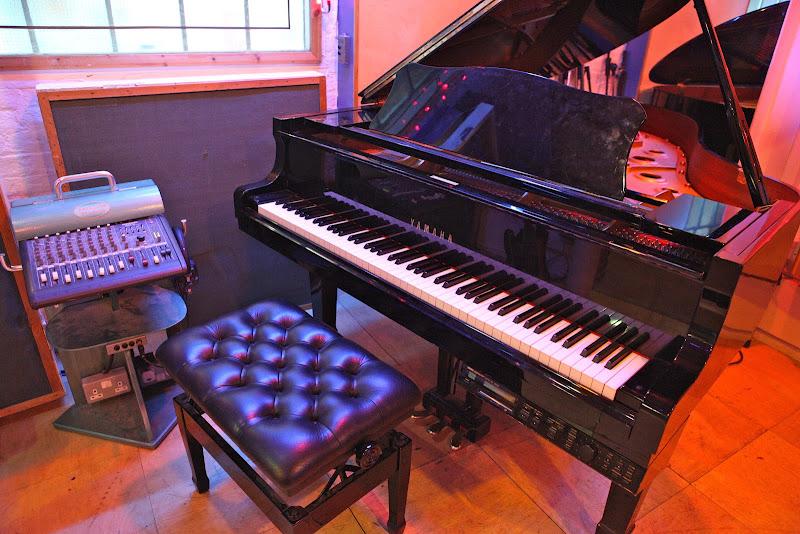 Grand Piano in Studio 1