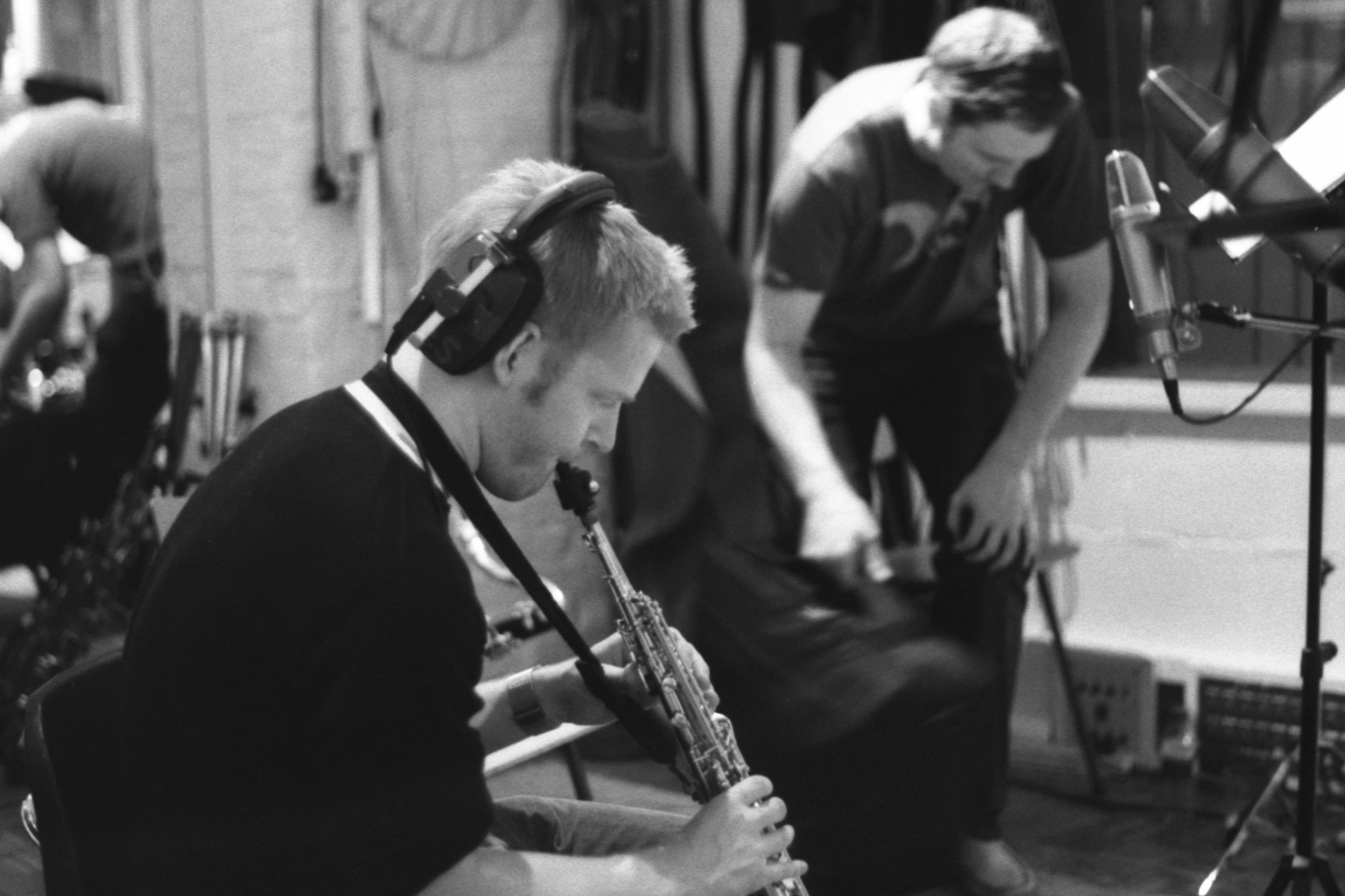 Horn Session in Studio 1