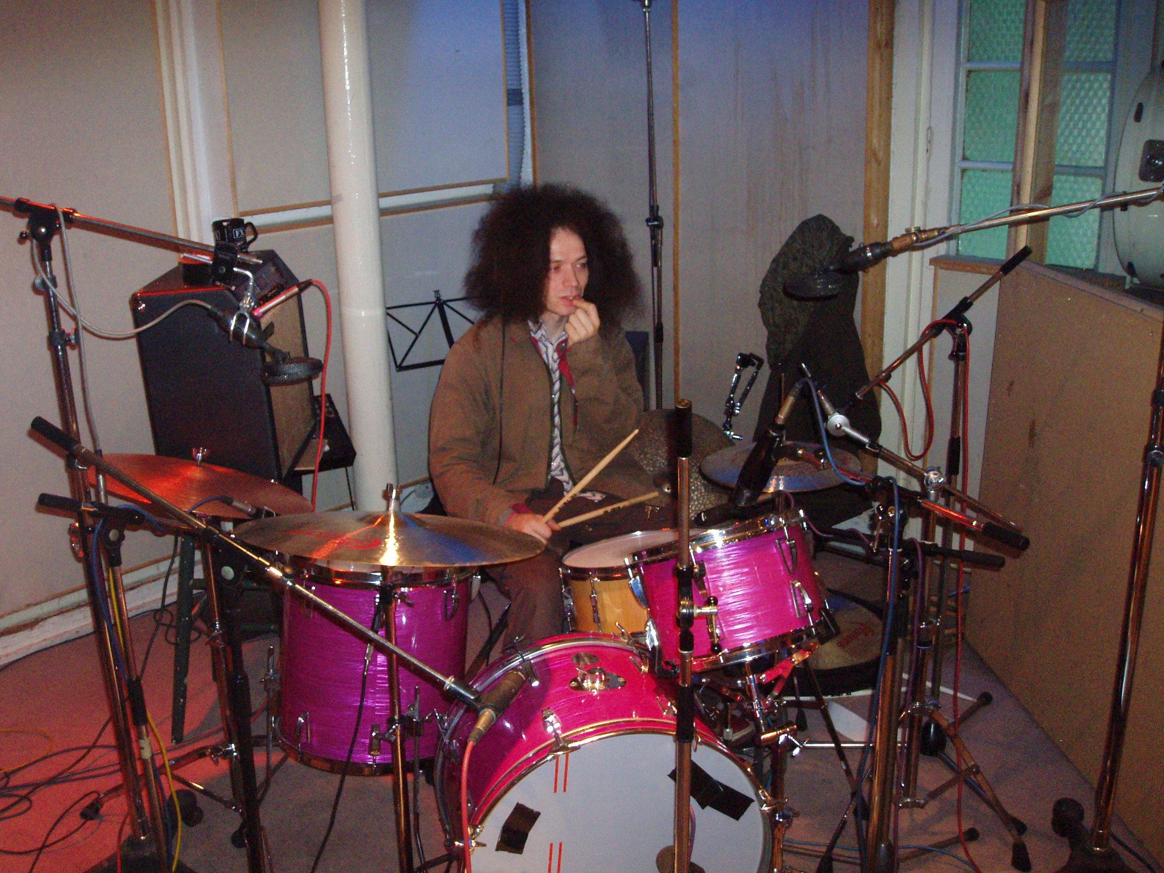 Drum Session in Studio 1