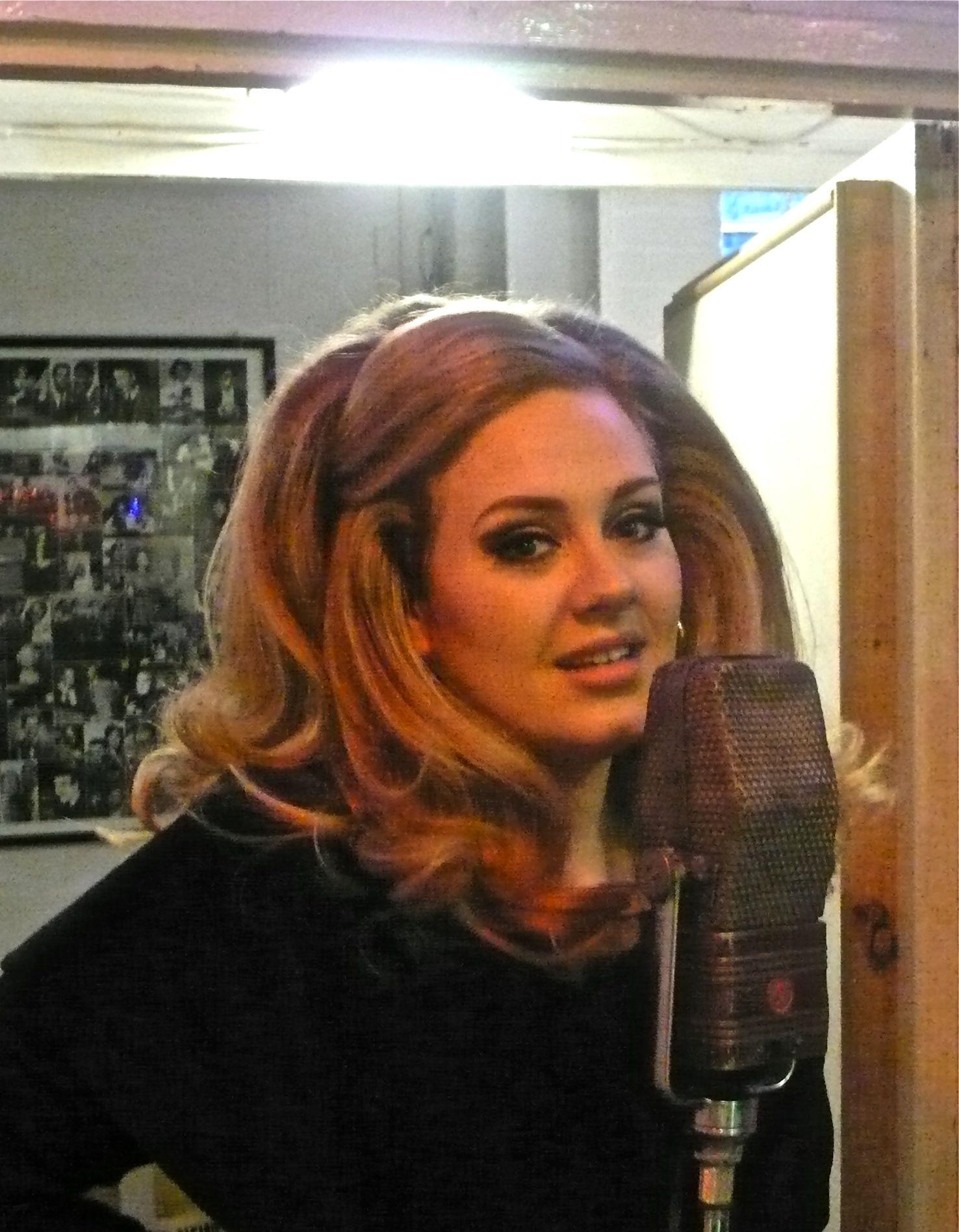 Adele in Studio 1