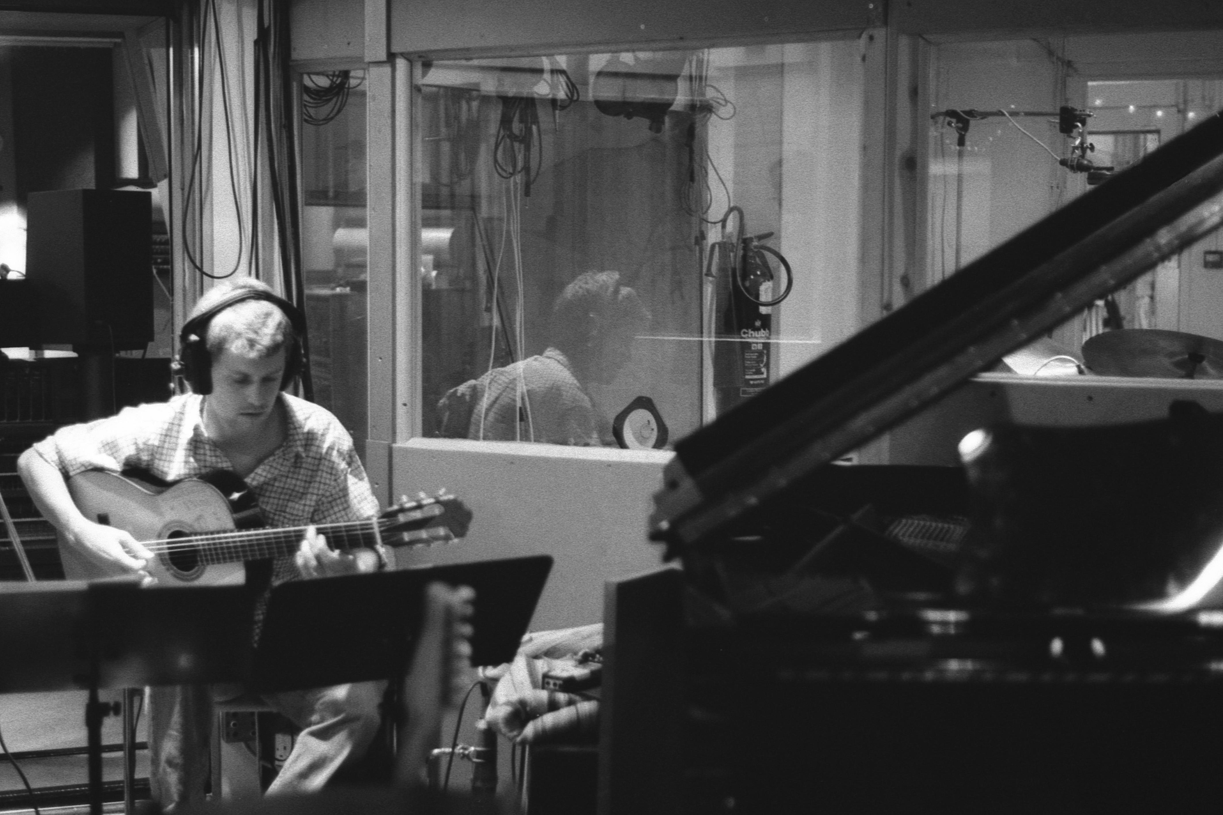 Recording in Studio 1