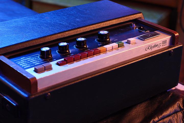 Rhythm Box in Studio 2