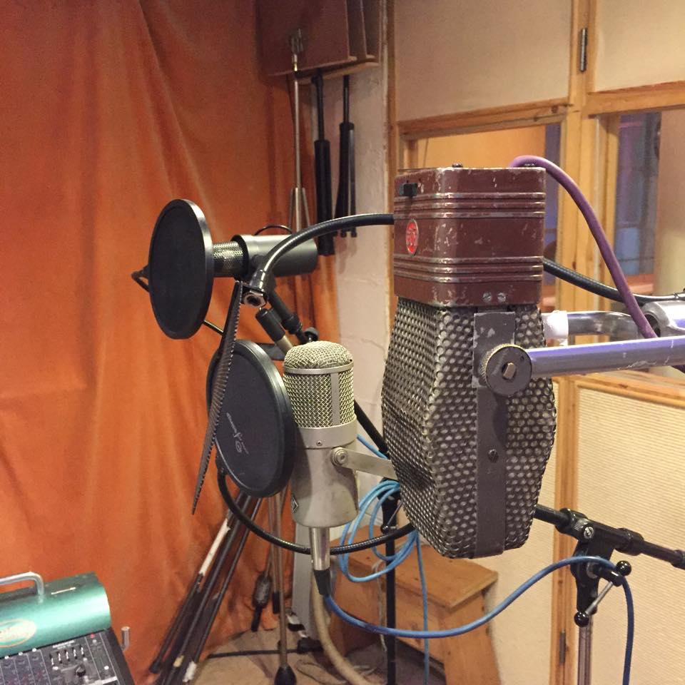 Microphone in Studio 1